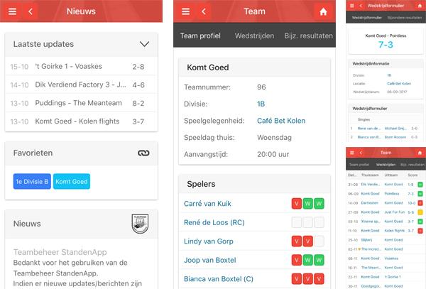 Teambeheer App